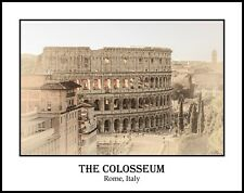 The Colosseum Rome Italy Sepia 11x14 Photograph (FCO19122580411x14)