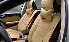 Car Truck Seat Headrest Pad Memory Foam PU Leather Head Neck Rest Cushion Pillow