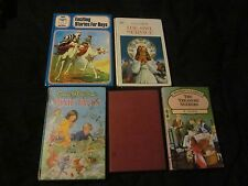 5X VINTAGE CHILDRENS BOOKS-THE OWL SERVICE/THE ARGONAUTS/PIXIE TALES/ETC