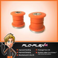 BMW E46 Compact Rear Lower Shock Absorber Bushes in Poly Polyurethane Flo-Fles