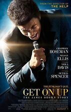 "GET ON UP Movie Poster - Flyer - 11X17""  - CHADWICK BOSEMAN"