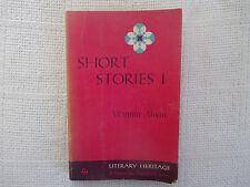 1961 Short Stories I Virginia Alwin Macmillan paperback FN-