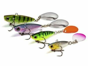 Quantum 4street Spin-Jig 41mm 21g Coulant Leurre dur Tailspin COULEURS NEUF 2021