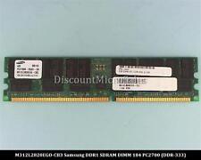 Samsung M312L2820EGO-CB3 DDR 1GB PC-2700 Reg ECC 333Mhz 2Rx4 RAM Memory