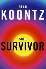 Sole Survivor by Dean Koontz (1997, Hardcover)