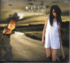 CD DIGIPACK KARRY TOUT VA BIEN 13 TITRES DE 2011 NEUF SCELLE RARE !!!!