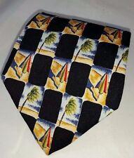 ECHO 100% Silk Men's Tie Tropical NWOT