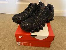 Nike Shox TL Black, UK 8.5
