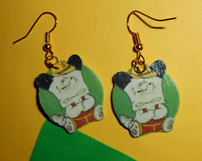 Bijoux Orecchini earrings hello spank in fimo bigiotteria idea regalo