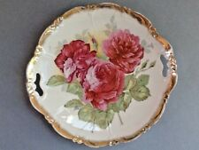 A Lovely Decorative Ceramic Plate with a Three Flowers Design