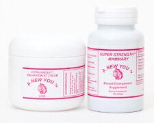 Breast Enlargement Pills And Cream Kit For Crossdressing & Transgender Men