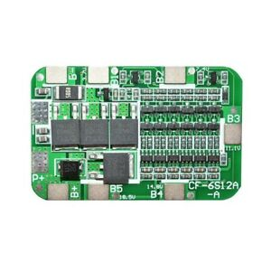 20X(6S 15A 24V PCB BMS LadegeräT Schutz Platine für 6 18650 Li-Ion Lithium C8T3)