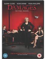 Damages: Season 5 DVD (2013) Glenn Close cert 15 3 discs ***NEW*** Amazing Value