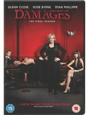 Damages: Season 5 DVD (2013) Glenn Close ***NEW***