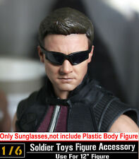 "12"" Figure Hottoys HT Model Toy The Avengers Hawkeye 1/6Scale Sunglasses Glasses"
