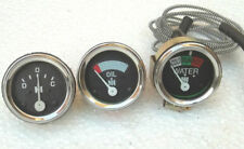 Farmall Oil Pressure Gauge +Temp+ Ammeter for A , B, Super A, A1, Super C