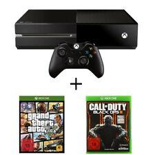Microsoft XBOX ONE Konsole 500GB Schwarz + Controller + 2 Gratis Spiele *