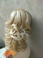 MIX long Curly Scrunchie Synthetic Hair Ponytail Holder Hairpiece Hair Extension