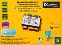 Atheros AR9382 minipci express 802.11A/B/G/N 300Mbps WIFI 2.4Ghz 5Ghz