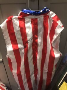 Signed Carl Weathers Apollo Creed Rocky USA Robe COA