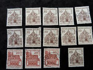Briefmarken Berlin - Jahrgang 1965  gestempelt Dauerserie