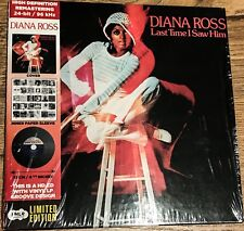 DIANA ROSS MINI LP CD ALBUM 24BIT REMASTERED HIGH DEFINITION LAST TIME I SAW HIM