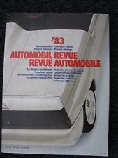 Hallwag Book Automobil Revue '83 (German / French)