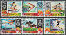 Ras al Khaima 1970 used Mi.384/89 A Olympische Spiele Olympic Games München 1972
