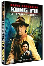 KUNG FU : THE LEGEND CONTINUES (David Carradine)-  DVD - PAL Region 2 - New