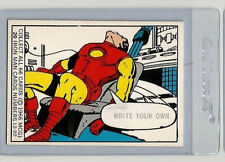 1966 DONRUSS MARVEL SUPER HEROES TRADING CARD # 20 Iron Man