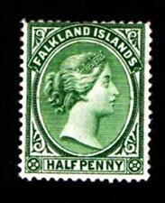 FALKLAND ISLAND..1891.1/2 d. MOUNTED MINT GREEN SG 16.