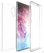 Tri-Max Clear Screen Guard TPU Full Body Wrap Case Cover for Galaxy Note 10 Plus