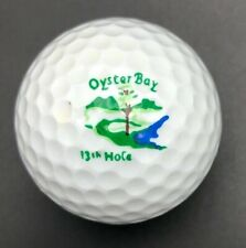 Oyster Bay 13th Hole Logo Golf Ball (1) Hogan Leader PreOwned