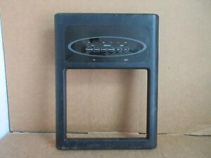 Maytag Whirlpool Refrigerator Dispenser Frame/Cover Black Part # W10181544