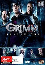 GRIMM-SEASON 1 (DVD, 6-DISC SET) REGION- 2+4+5, NEW, FREE POST WITHIN AUSTRALIA