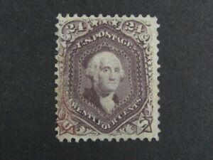 Nystamps US Stamp # 70 Mint OG H $3000 Signed j16xv