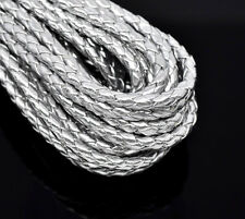 Silvery White Braiding HOTSELL Leatheroid Jewelry Cord 5M