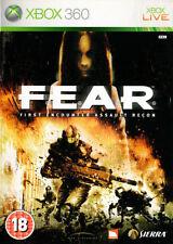 Miedo: primer encuentro Assault Recon Xbox 360 * en buenas condiciones en funcionamiento *