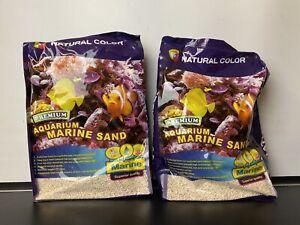2 x 5kg Natural Color Dry Reef Marine Substrate Aquarium Fish Tank Sand Gravel