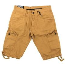 2a558e4066bb New Men s Jordan Craig Basic Cargo Shorts Solid Wheat Size 44 Brand ...