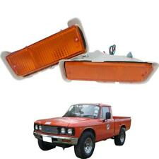 1972-1980 Isuzu KB20 Bedford KB Chevrolet LUV Front Bumoper Lamp Lights Pair