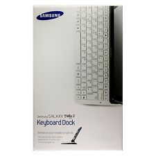 Original Samsung Clavier Keyboard dock (QWERTY) pour Galaxy Tab 2 10.1