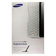 Original Samsung Clavier Keyboard dock (QWERTY) pour Galaxy Tab 2 10.1
