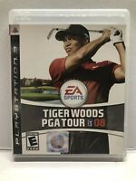 Tiger Woods PGA Tour 08 (Sony PlayStation 3, 2007) Clean & Tested Working