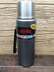NEW damaged Genuine THERMOS Brand Hammertone Vacuum Insulated Wide Mouth 40oz