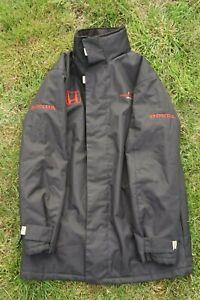Black Honda Formula 1 F1 Team Jacket Size Large - Good Condition