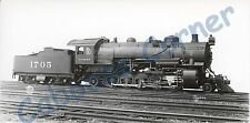 AT&SF 1705 2-10-2 Class 1674  Builder's Photo Great Detail! 8x4 B&W Photo (0359)