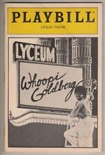 Whoopi Goldberg  Broadway Playbill  1984  Lyceum Theatre  Mike Nichols