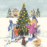 Pack of 8 O' Christmas Tree NSPCC Charity Christmas Cards Xmas Cards