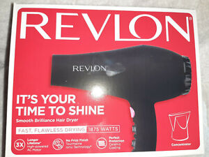 REVLON Perfect Heat, Smooth Brilliance Styler 1875W Hair Dryer OPEN BOX